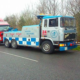 Example of Heavy Vehicle Recovery